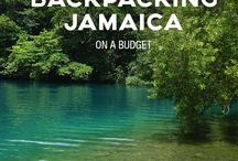 Karibien / Olivers och Elenas backpack i Jamaica och Dominikanska republiken