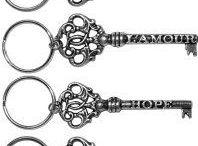 key to my heart gifts / Key to my heart gifts, keys, sentimental victorian gate keys, pewter keys