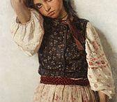 Дети на картинах русских художников 17-19вв