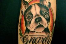 Boston Terrier Tattoos / Would you get a tattoo of your Boston?