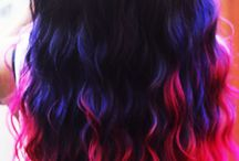 OMBRE HAIR / The diff colours i've tried and im planning to try / by The Fashion Engineer