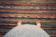 Finnish rag rugs by Sirpa