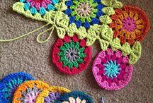 Crochet Round Granny Square