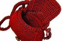Virka väskor / Crochet virka bags