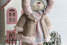 Crochet - bunny/bear