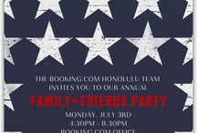 Booking.com 4th of July Party