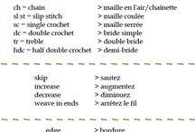 lexique crochet