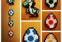 Craft ideas - perler beads: Mario