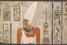 Ancient Egypt -  Middle Kingdom /  2040/2055 – 1650 B.C. Last three kings of 11th Dynasty and 12th Dynasty.