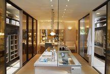 Suite integrada ao closet
