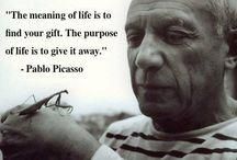 Pablo Picasso / by Filipa Caiado