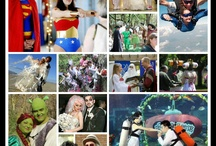 Weird Weddings / Sometimes, I get a little bored looking for the perfect, romantic wedding themes.  So today, I am going to post the themes that keep me interested!!  Feel free to laugh at some and stare at others!!!  Each one is special in it's own way! <3