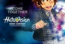 Hetalia x Eurovision