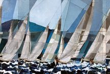 Painting Boats and Sails