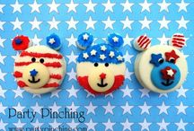 Patriotic/4th July / Celebration of all things red, white and blue!