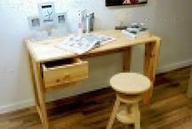 Bureau en bois abc meubles