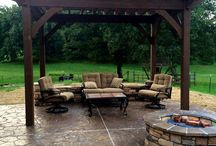 Pergolas / An arbor or pergola will add functionality, interest, and value to your Omaha landscape design.