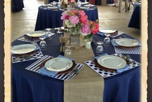 Wedding Decor / Out Door wedding décor can be beautiful but some times a challenge.