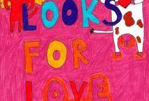 Children's  Folk Art  e-book  About Love