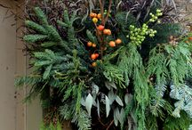 Winter outdoor arrangements