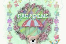 Animações Aniversário / Tutorial Borboletas by Ninh@® Lopes de Sá www.ninha.lopesdesa.nom.br