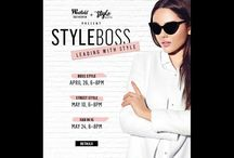 Style Boss: Leading with Style / Westfield Southcenter and My Style Suite present STYLE BOSS: Leading with Style – a series of fashion events to celebrate women and showcase personal style! #StyleBoss / by Westfield Southcenter