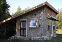 Cordwood cabin ♡