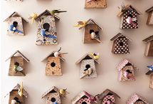 bird houses / Pin your houses There are so many DIY houses out there for our feathered friends