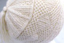 Pletené čiapky // Knitted hats