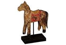antique painted toy horses