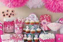 Baby shower, decoracion / Lindas ideas para decorar el espacio de tu baby shower