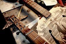 Cigar Box Guitars / Cigar box guitars and home made instruments