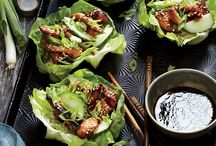 lettuce wrap lunch