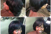 Natural Hair sew- ins / Natural Hair sew-ins