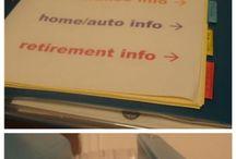 Personal info binder