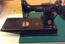My vintage sewing machines. / Sewing machines from the last 100 years.