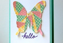 cards butterflies / by Peggie Barker