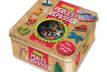 Mon livre perles à repasser / boîte de jeux pour enfants - chez Hugo jeunesse