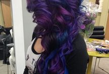 I want my hair like this / I want to color my hair, but I don't know wich colors yet.