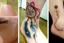 Ankle Tattoos / http://fabulousdesign.net/ankle-tattoos/