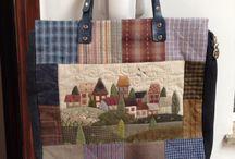 Placemat shopper bags