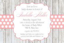 invitations / by Rebecca Hoyle