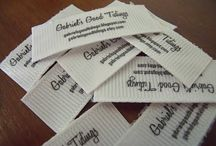 Make labels for your crafts