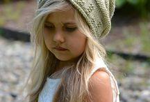 шапки спицами для детей