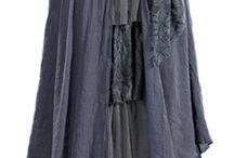 Layered boho skirt
