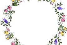 Watercolor floral ... / Kvety a podobné záležitosti...