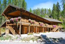 Lodging - Glacier National Park / Places to stay in and around Glacier National Park. / by Glacier Guides and Montana Raft Company