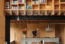 Cool design / Using plywood in architecture