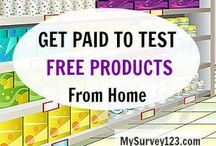 Get paid 2 test products at home