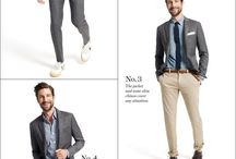 Working Clothes.  / Smart outfits for stylish working-men.
